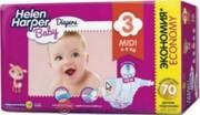 Детские подгузники Helen Harper Midi 4-9 kg, 70шт