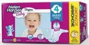 Детские подгузники Helen Harper Maxi 7-18 kg, 62шт