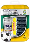 Набор MACH3 Turbo (4 картриджа/гель для бритья)