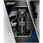 Набор MACH3 Turbo (станок/3 картриджа/гель для бритья)