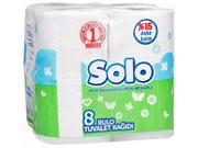 SOLO Бумага туалетная Ультра 8шт