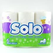 SOLO Полотенце кухонное белое 6шт