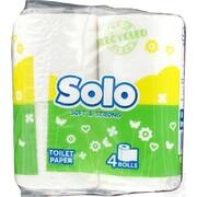 SOLO Бумага туалетная рециклинговый 4 шт
