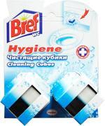 Bref Дуо-Куб Гигиена чистящие кубики для унитаза ,200г