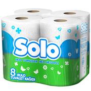 SOLO Туалетная бумага Ультра 8шт